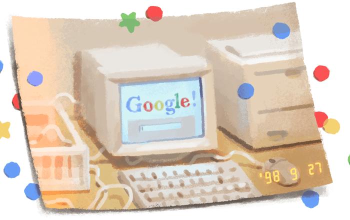 google, doodle, 21st, birthday, September, 21,